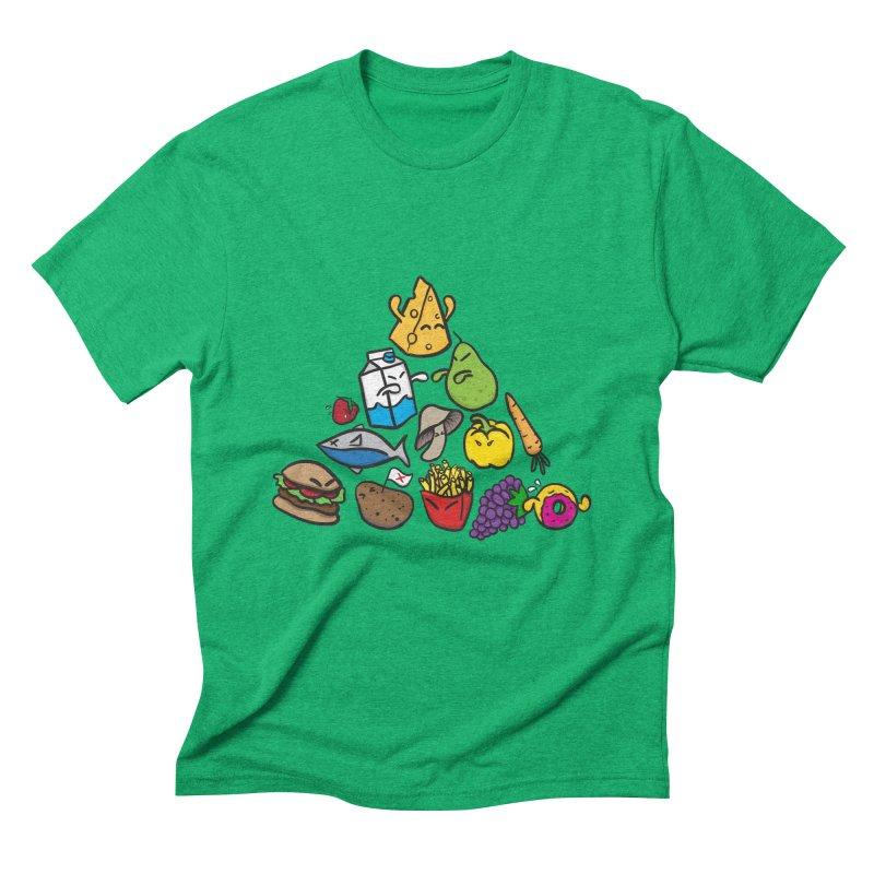 Imbalance Diet Men's Triblend T-Shirt by Vectoran