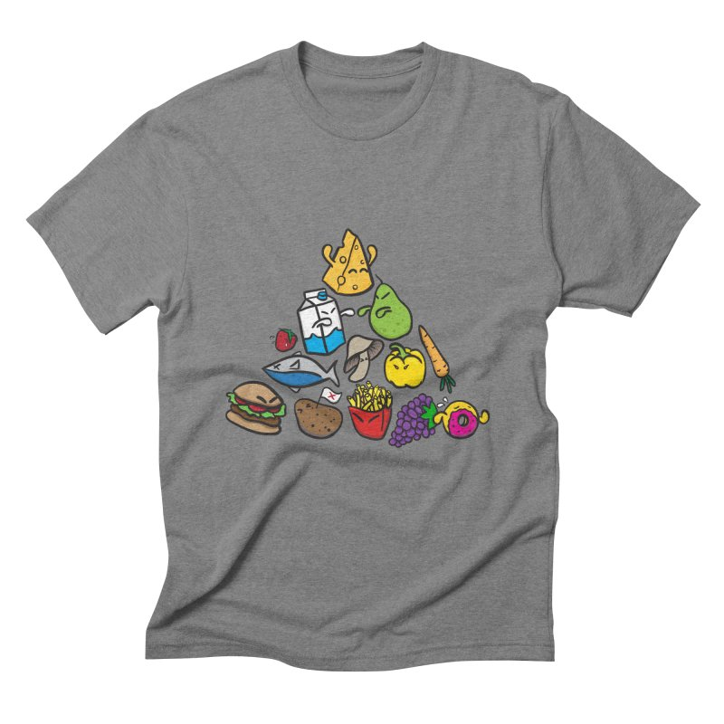Imbalance Diet Men's Triblend T-Shirt by Vectoran