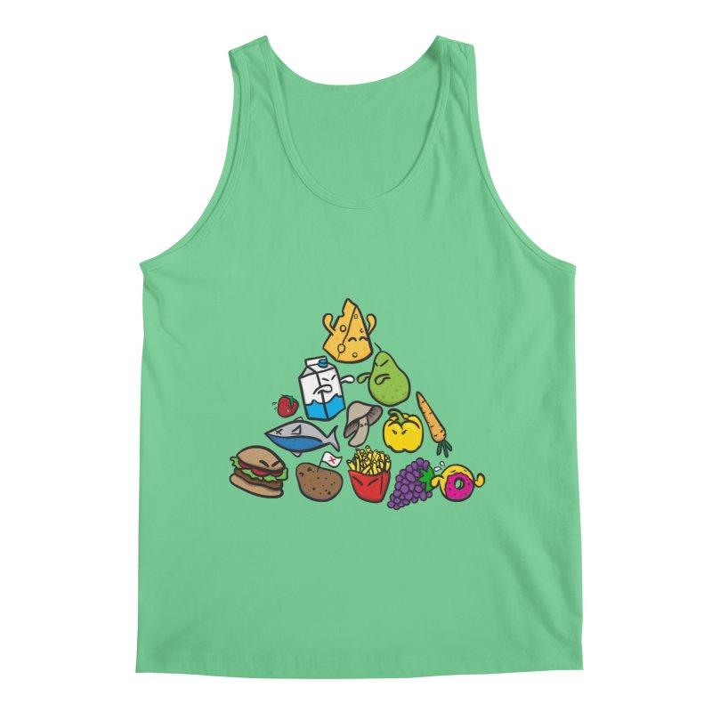 Imbalance Diet Men's Tank by Vectoran