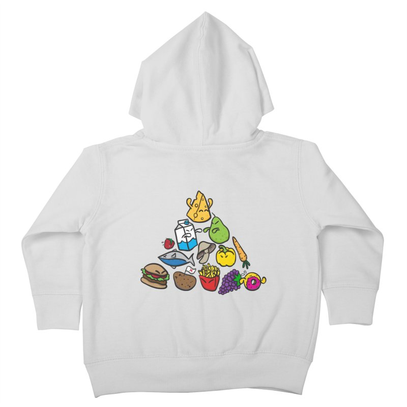 Imbalance Diet Kids Toddler Zip-Up Hoody by Vectoran