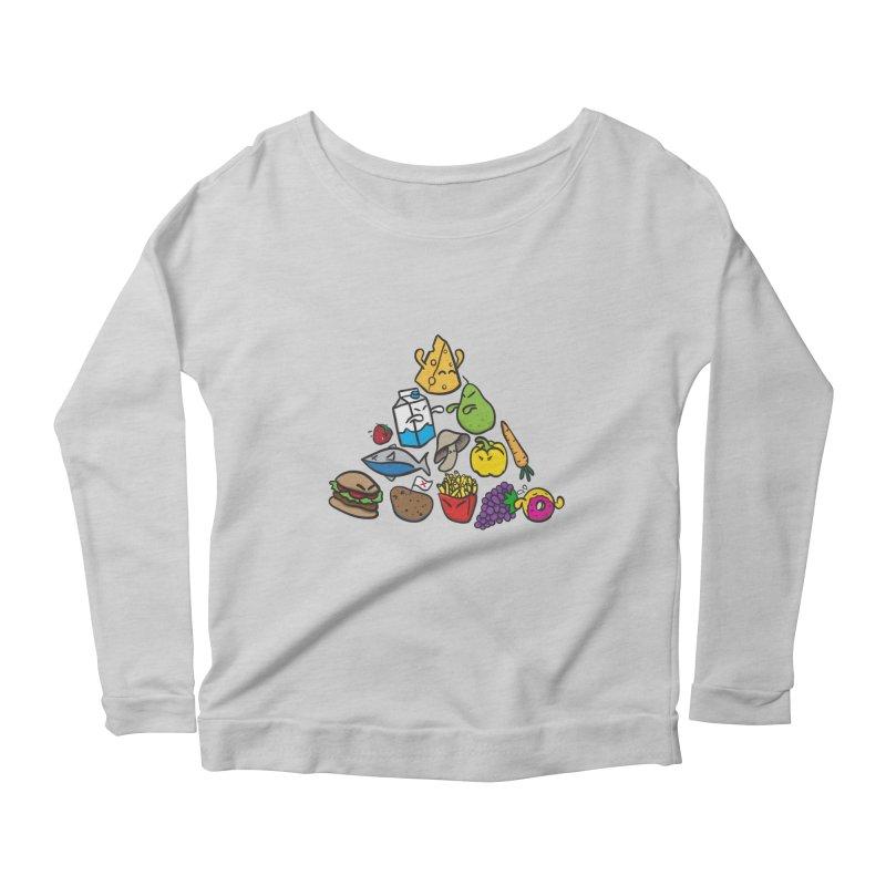 Imbalance Diet Women's Scoop Neck Longsleeve T-Shirt by Vectoran