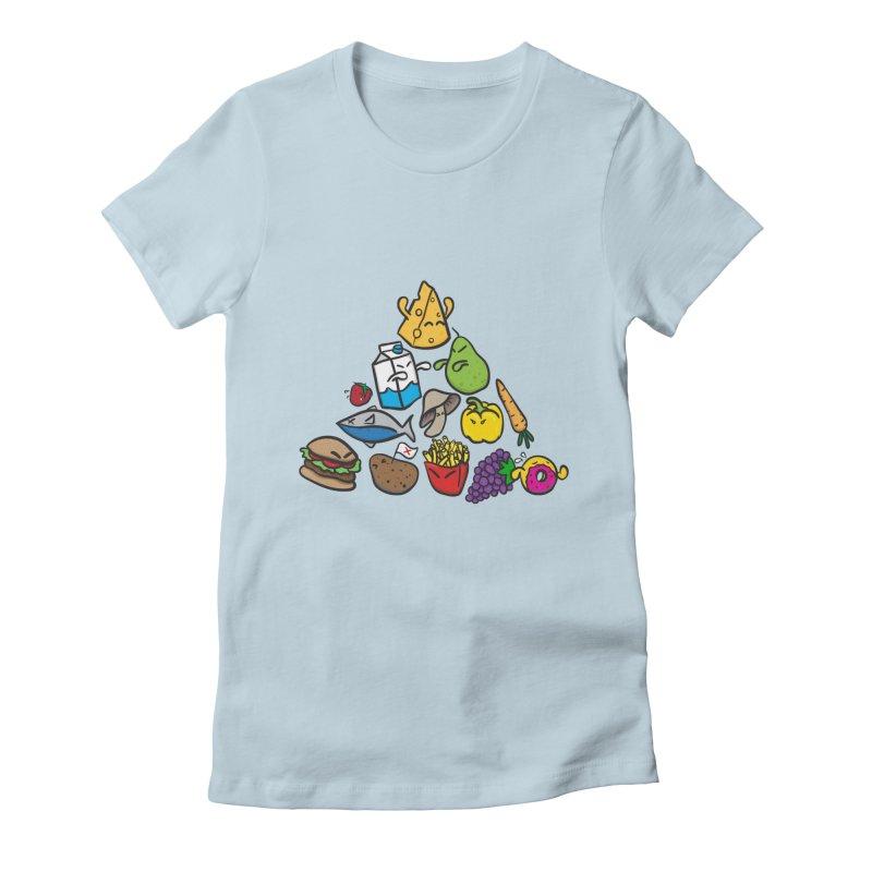 Imbalance Diet Women's T-Shirt by Vectoran