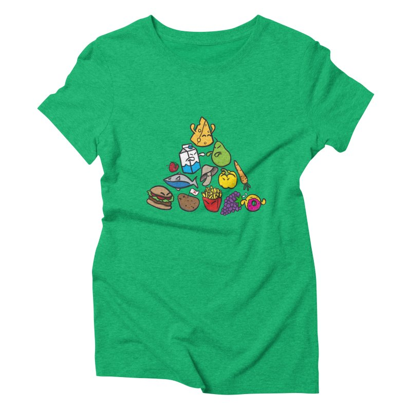 Imbalance Diet Women's Triblend T-shirt by Vectoran