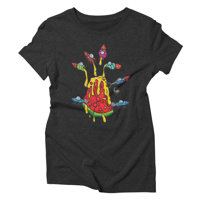 Cheesy Makeover Women's Triblend T-Shirt by Vectoran