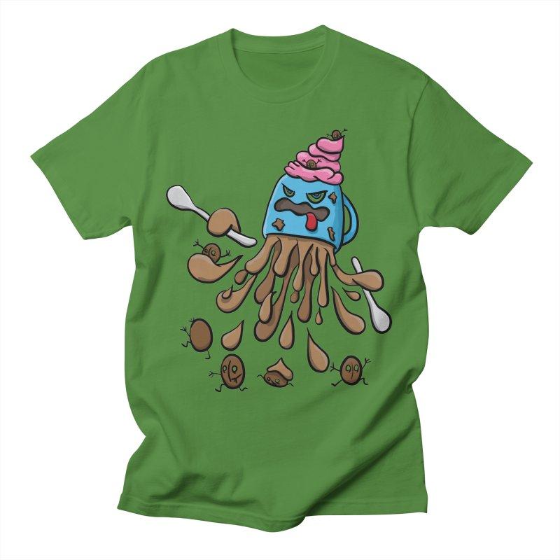 Something's Brewing Men's T-Shirt by Vectoran