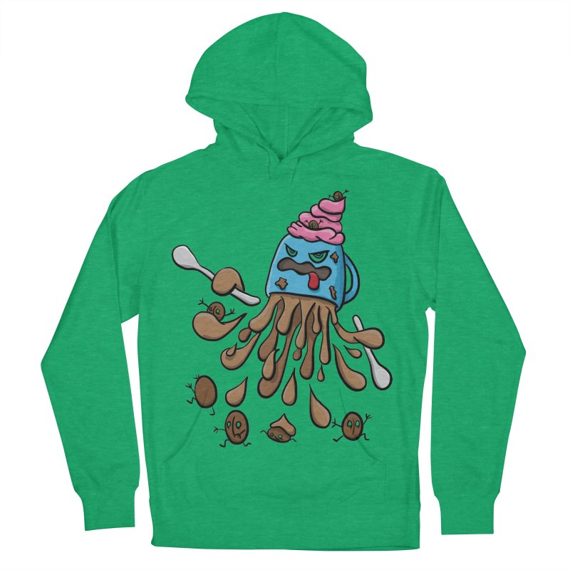 Something's Brewing Women's French Terry Pullover Hoody by Vectoran