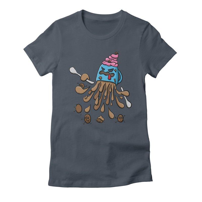 Something's Brewing Women's T-Shirt by Vectoran