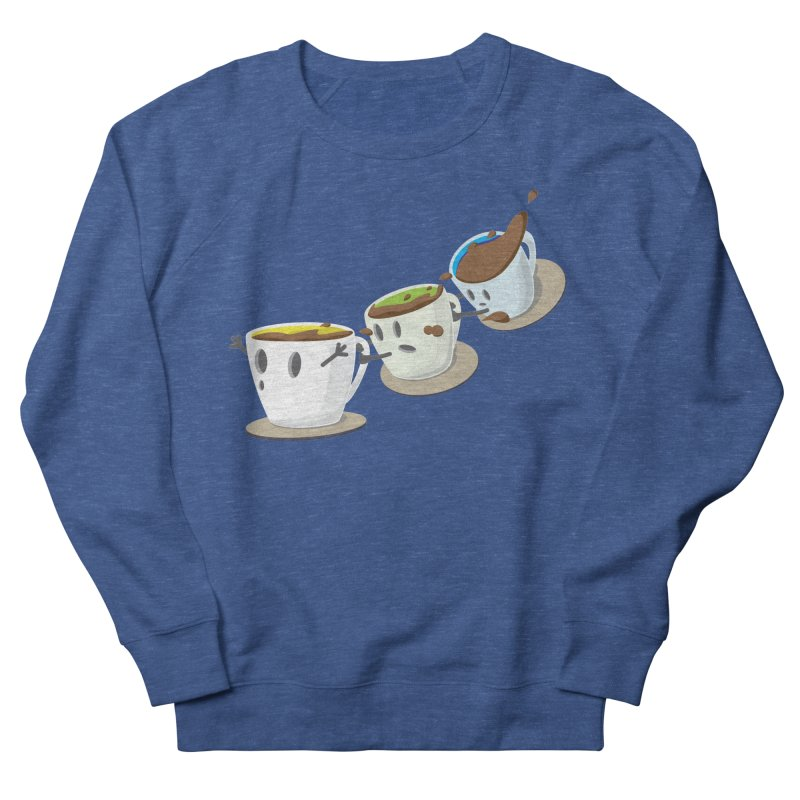 Coffee Coaster Men's Sweatshirt by Vectoran