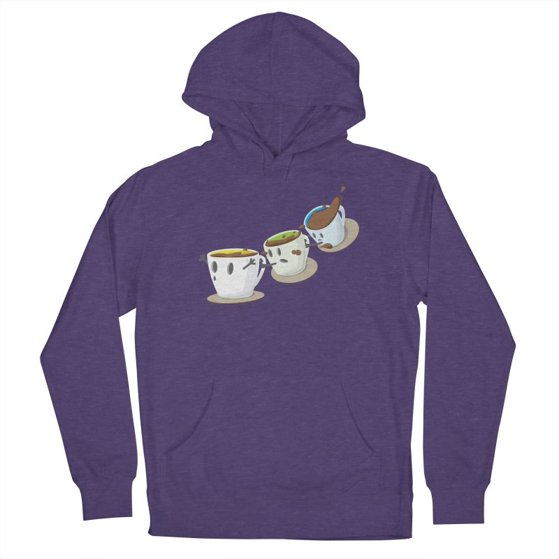 Coffee Coaster Women's Pullover Hoody by Vectoran