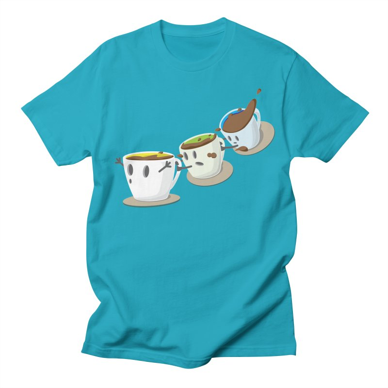 Coffee Coaster Men's T-Shirt by Vectoran