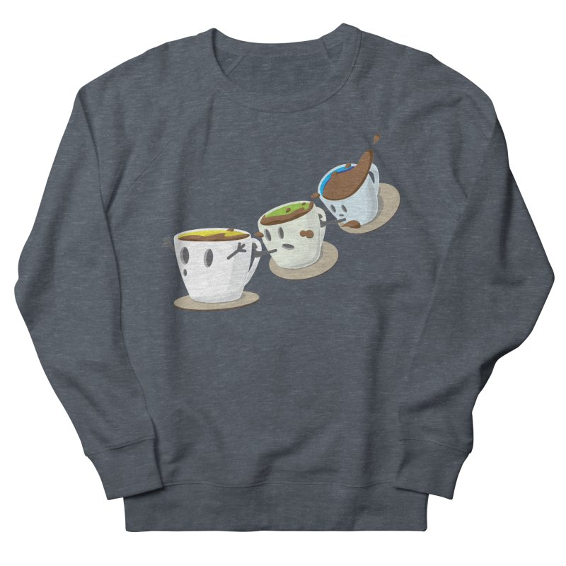 Coffee Coaster Women's French Terry Sweatshirt by Vectoran