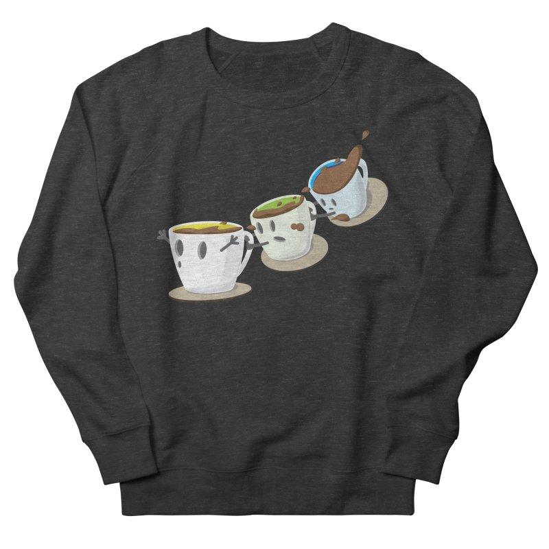 Coffee Coaster Men's French Terry Sweatshirt by Vectoran