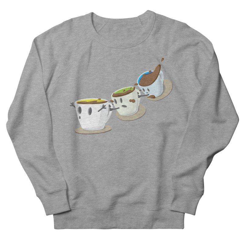 Coffee Coaster Men's Sweatshirt by Vectoran