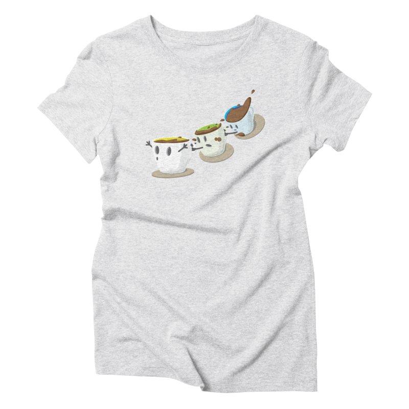 Coffee Coaster Women's T-Shirt by Vectoran