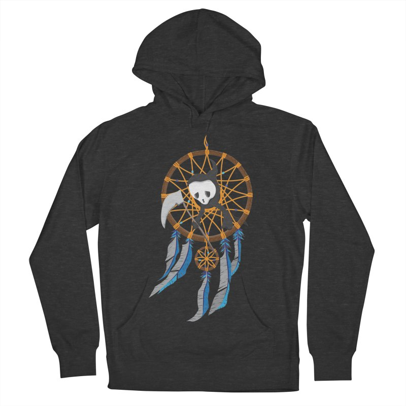 Grim Catcher Women's French Terry Pullover Hoody by Vectoran