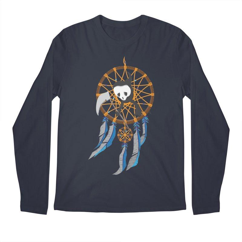 Grim Catcher Men's Regular Longsleeve T-Shirt by Vectoran