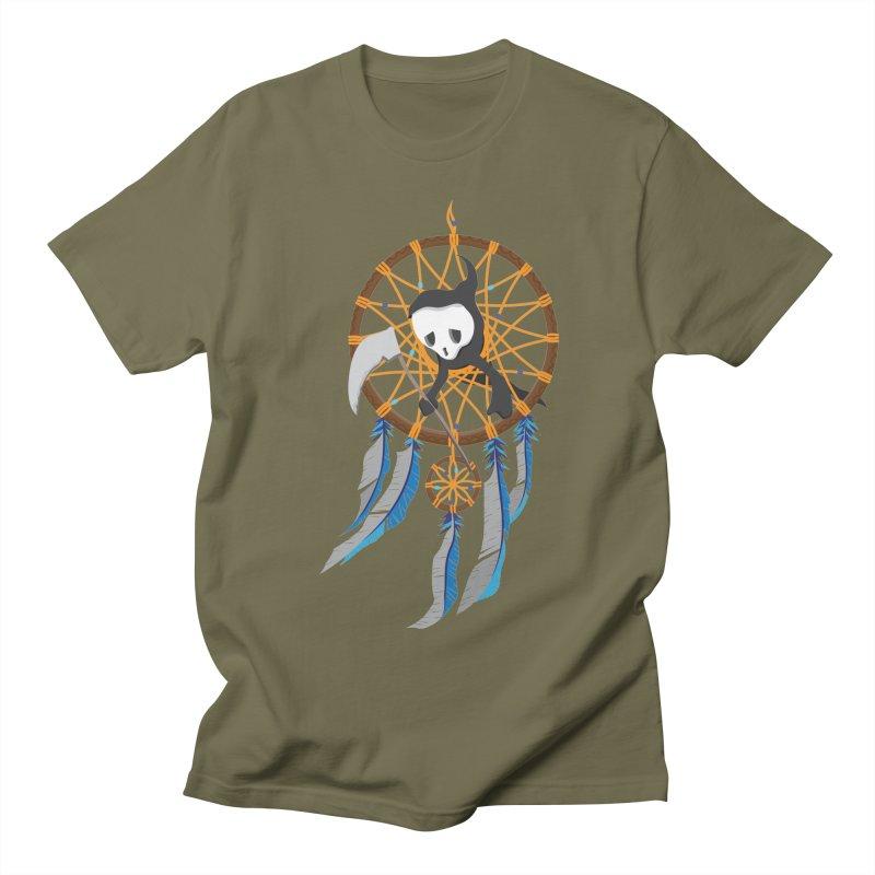 Grim Catcher Men's T-Shirt by Vectoran