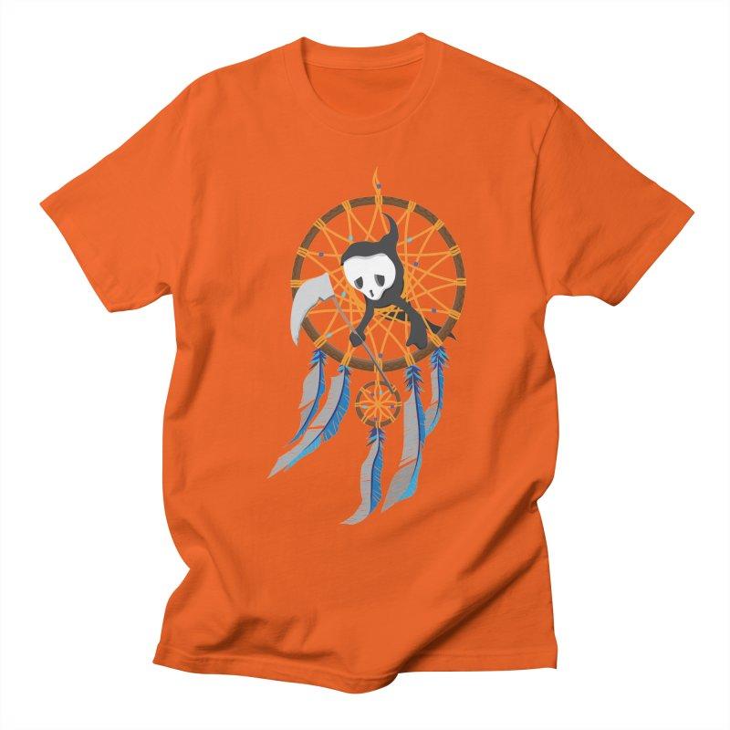 Grim Catcher Men's Regular T-Shirt by Vectoran