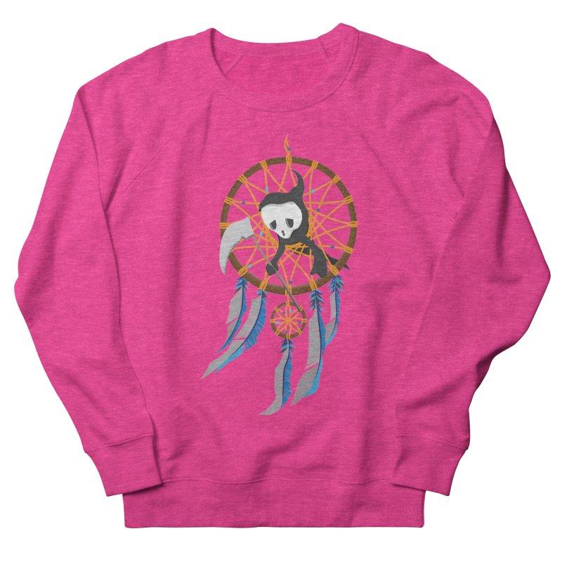 Grim Catcher Women's French Terry Sweatshirt by Vectoran