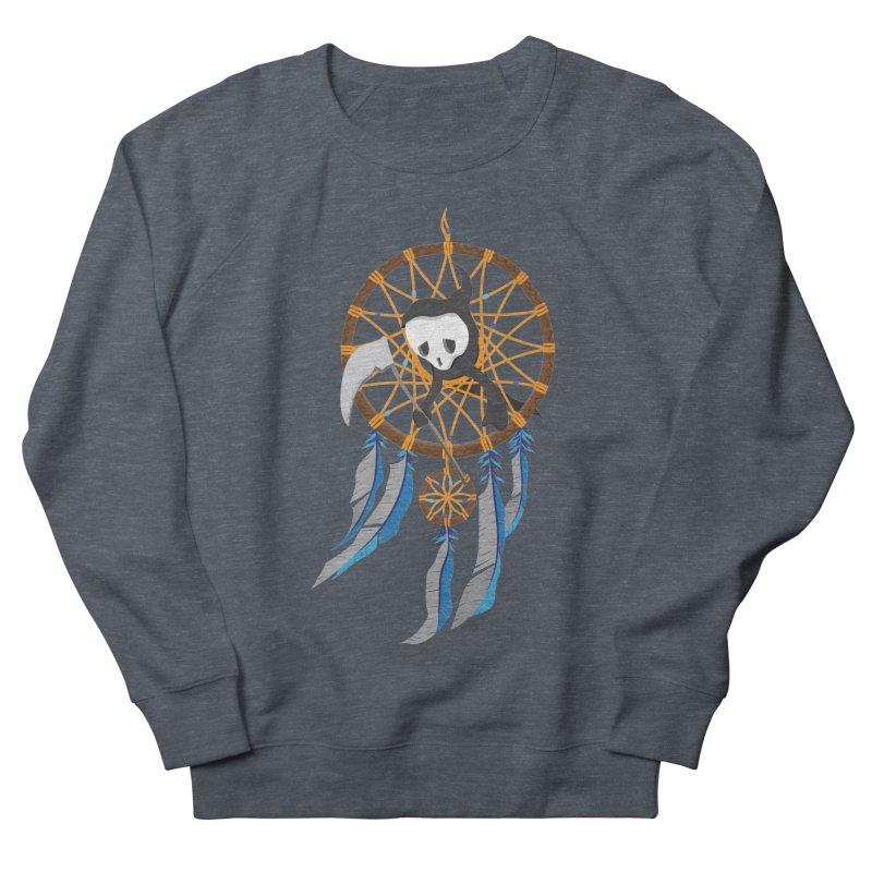 Grim Catcher Men's French Terry Sweatshirt by Vectoran
