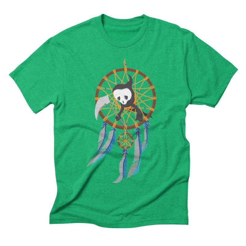 Grim Catcher Men's Triblend T-Shirt by Vectoran