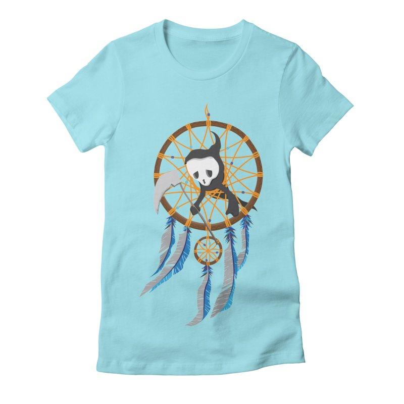 Grim Catcher Women's Fitted T-Shirt by Vectoran