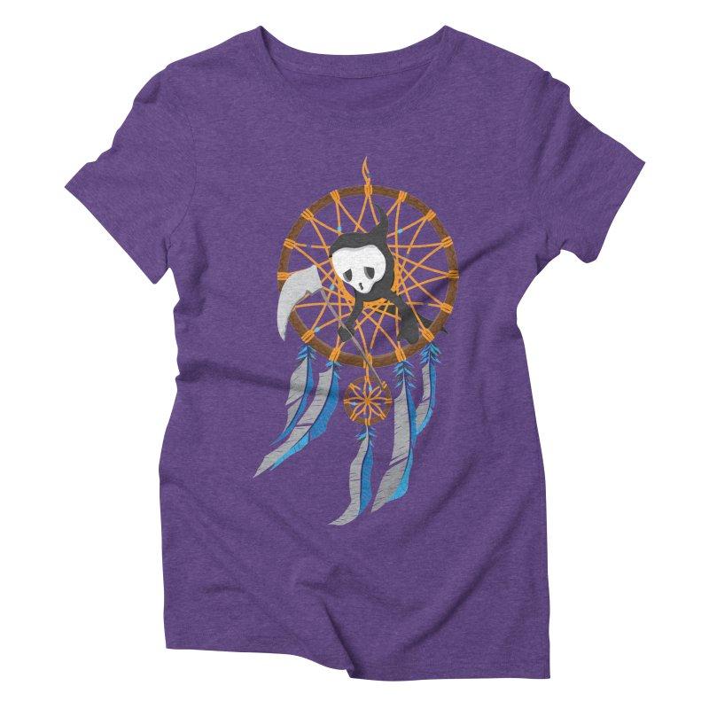 Grim Catcher Women's Triblend T-Shirt by Vectoran