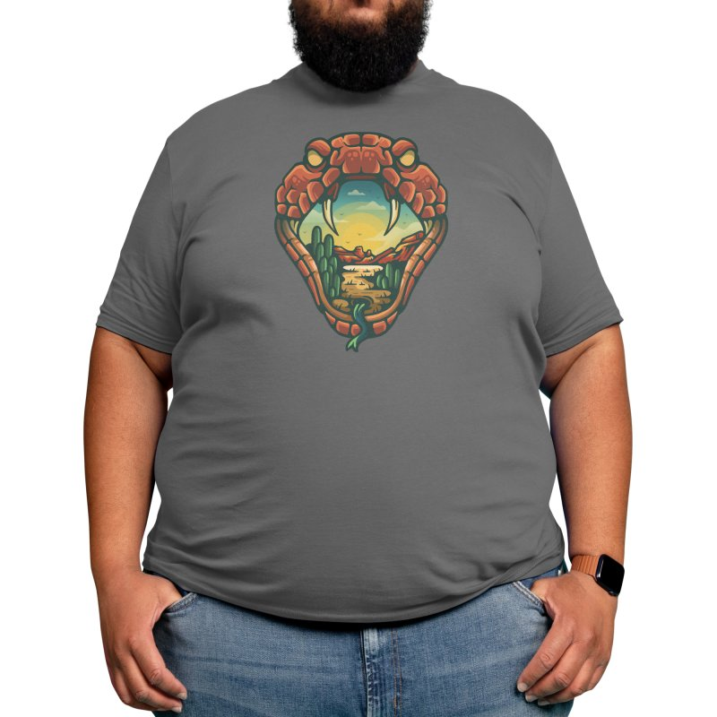 SNAKE OUTDOORS Men's T-Shirt by Nowhere Land