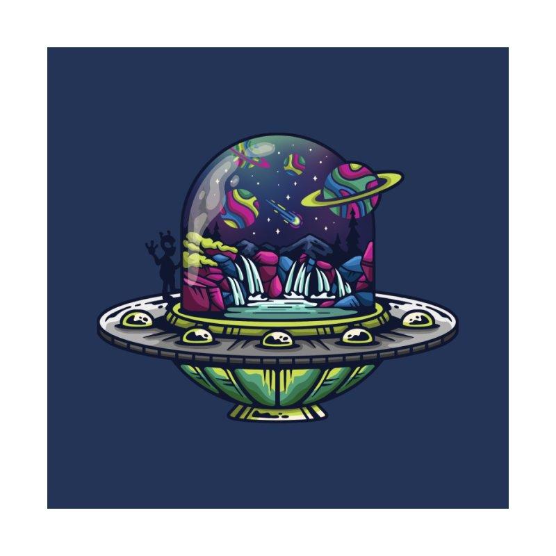 UFO Men's T-Shirt by Nowhere Land