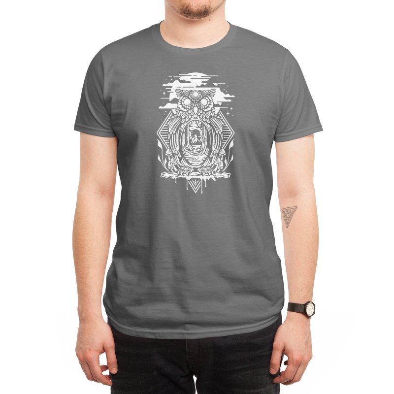 NIGHT OWL Men's T-Shirt by Nowhere Land