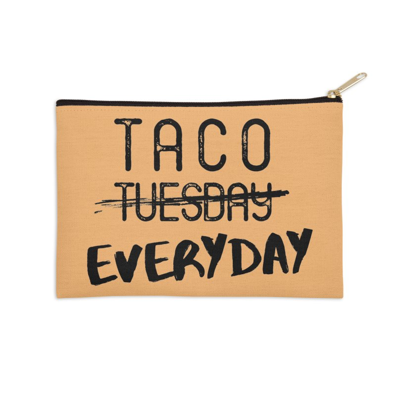 Taco Everyday in Zip Pouch by Nox + Quills Creative