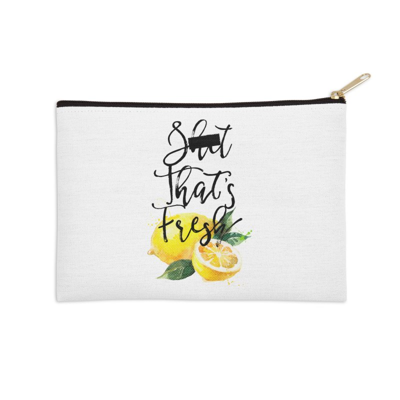 S**t That's Fresh Accessories Zip Pouch by Nox + Quills Creative