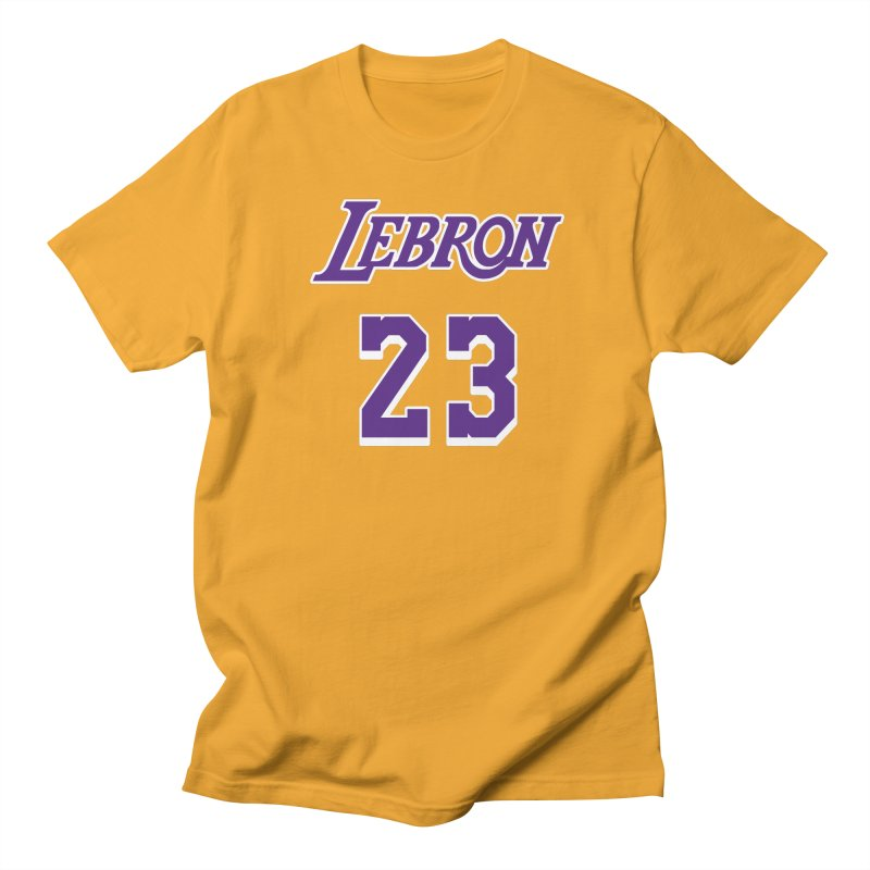 L.A. Bron Home (Men's & Women's) Men's Regular T-Shirt by NPHA.SHOP