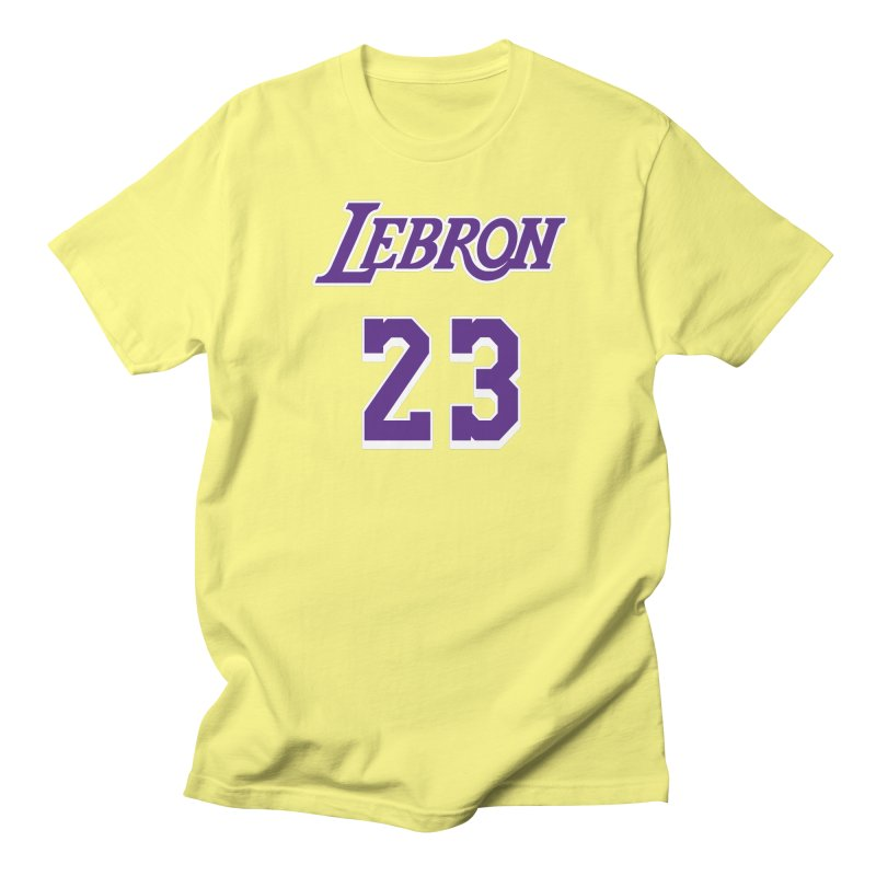 L.A. Bron Home (Men's & Women's) Women's Regular Unisex T-Shirt by NPHA.SHOP