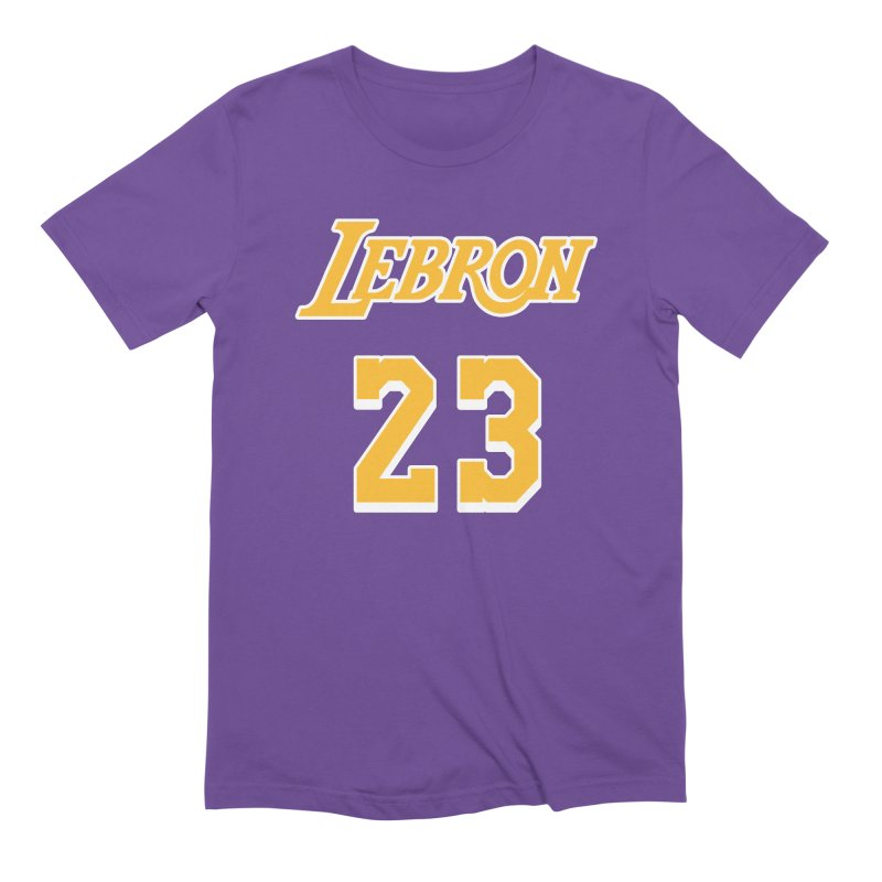L.A. Bron Road (Men's & Women's) Men's Extra Soft T-Shirt by NPHA.SHOP