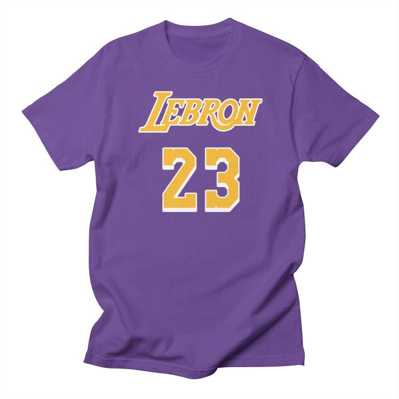 L.A. Bron Road (Men's & Women's) Men's Regular T-Shirt by NPHA.SHOP