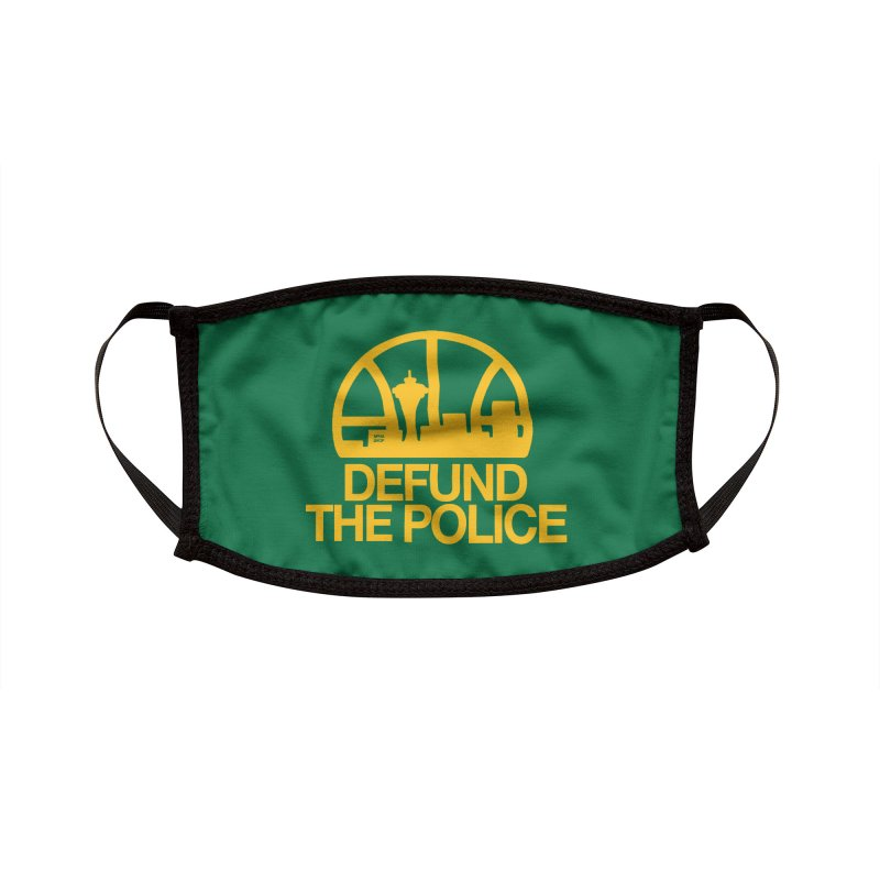 Defund The Police (Basketball) Accessories Face Mask by NPHA.SHOP