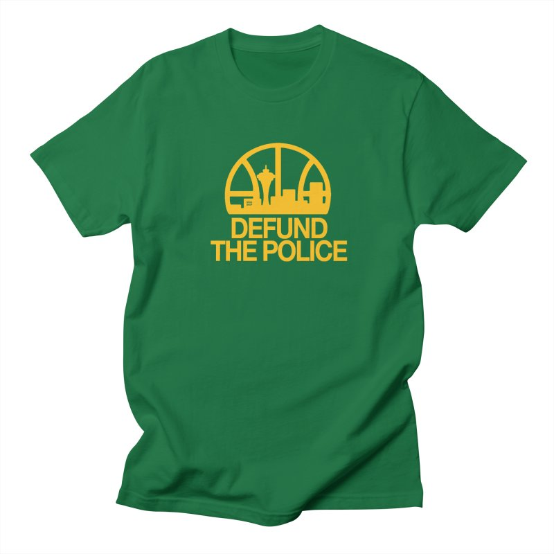 Defund The Police (Basketball) Men's T-Shirt by NPHA.SHOP