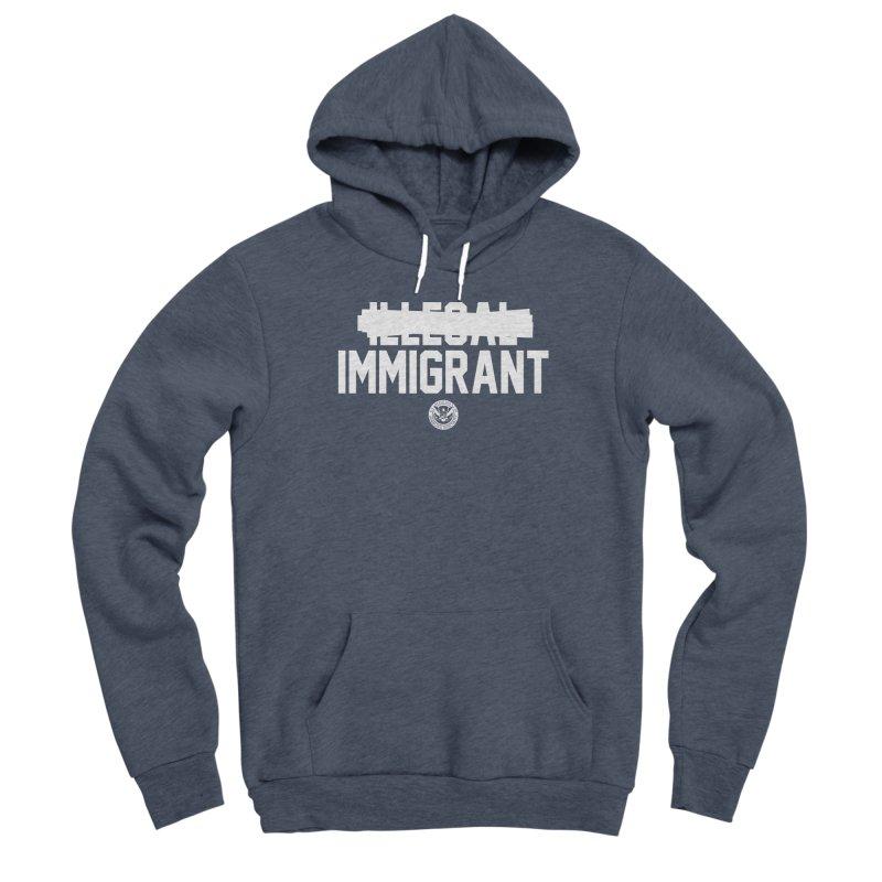 Immigrant Minded (Men's & Women's) Women's Sponge Fleece Pullover Hoody by NPHA.SHOP