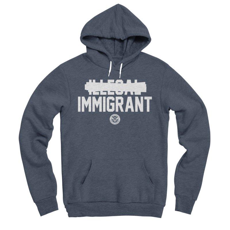 Immigrant Minded (Men's & Women's) Men's Sponge Fleece Pullover Hoody by NPHA.SHOP