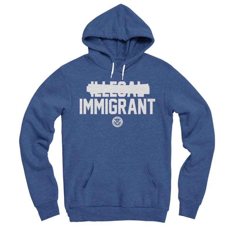 Immigrant Minded (Men's & Women's) Women's Sponge Fleece Pullover Hoody by NPHA.SHOP