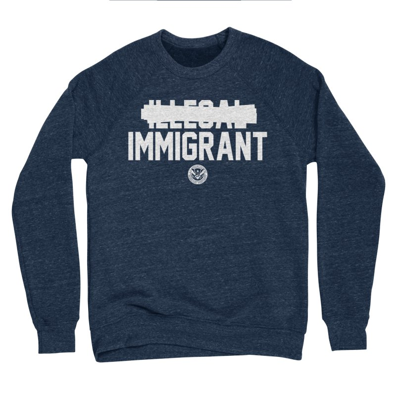 Immigrant Minded (Men's & Women's) Women's Sponge Fleece Sweatshirt by NPHA.SHOP