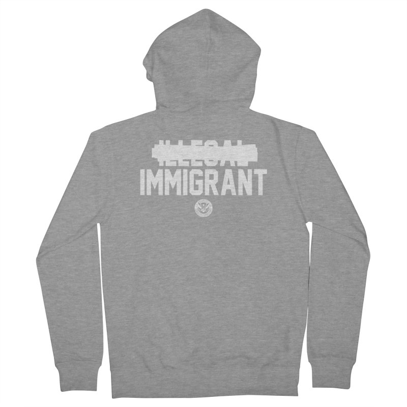 Immigrant Minded (Men's & Women's) Women's French Terry Zip-Up Hoody by NPHA.SHOP