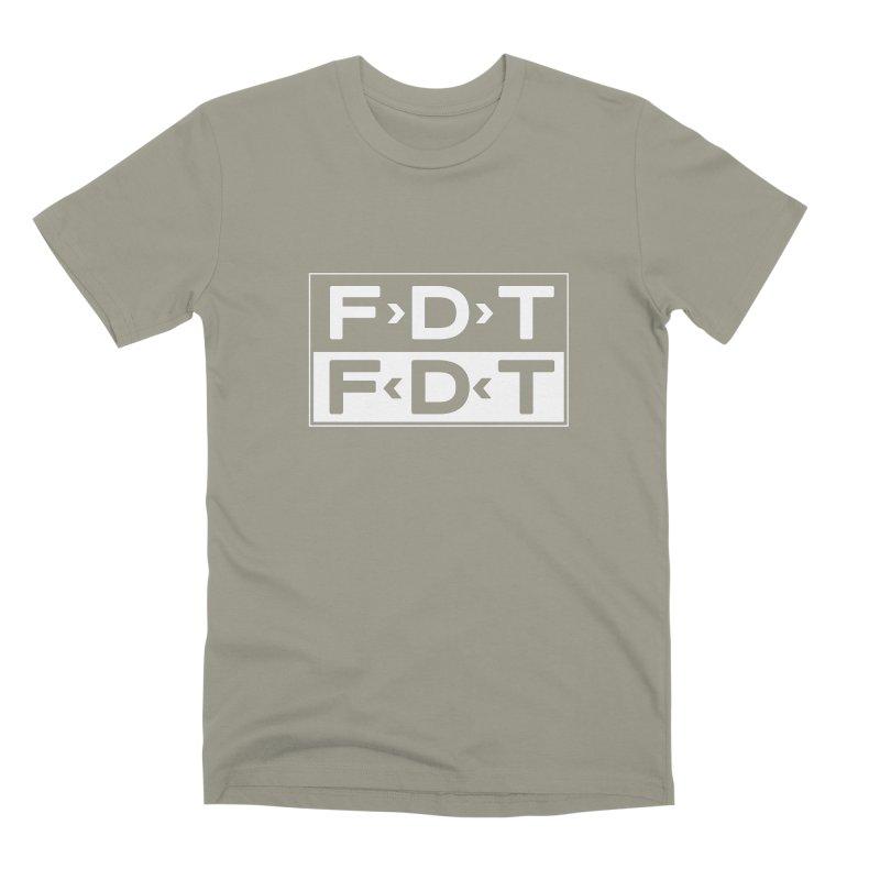 SUB x FDT (Men's & Women's) Men's Premium T-Shirt by NPHA.SHOP
