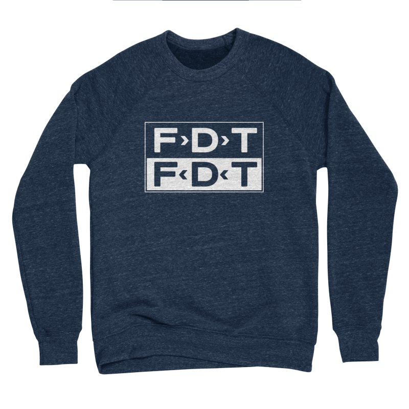 SUB x FDT (Men's & Women's) Men's Sponge Fleece Sweatshirt by NPHA.SHOP