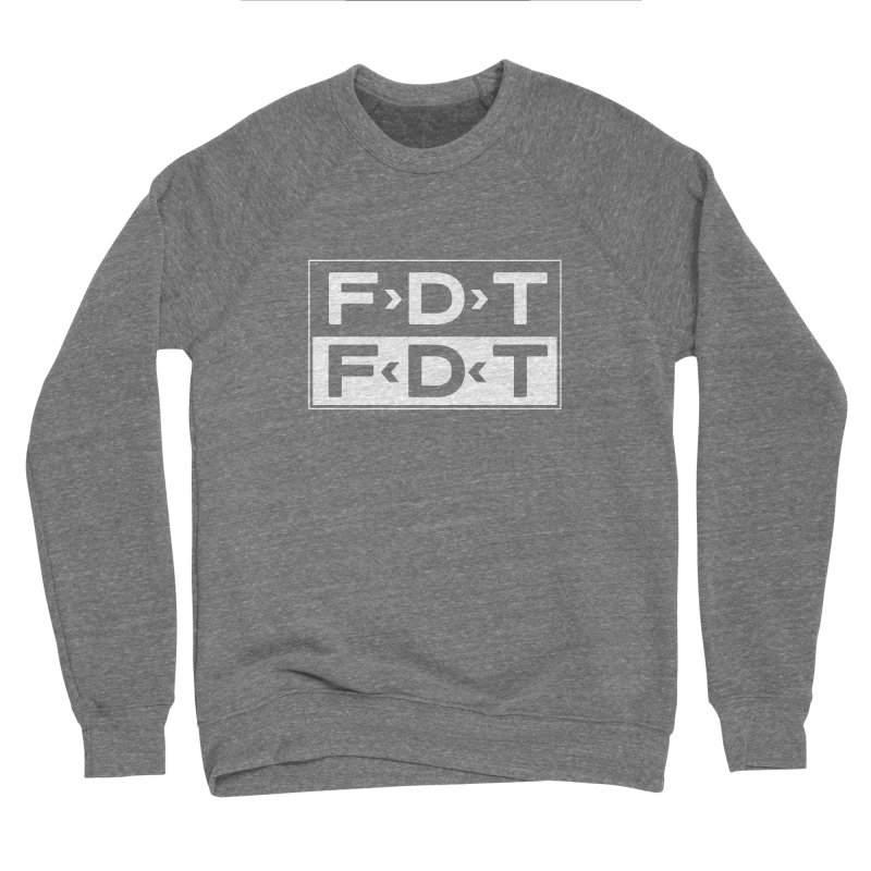 SUB x FDT (Men's & Women's) Women's Sponge Fleece Sweatshirt by NPHA.SHOP