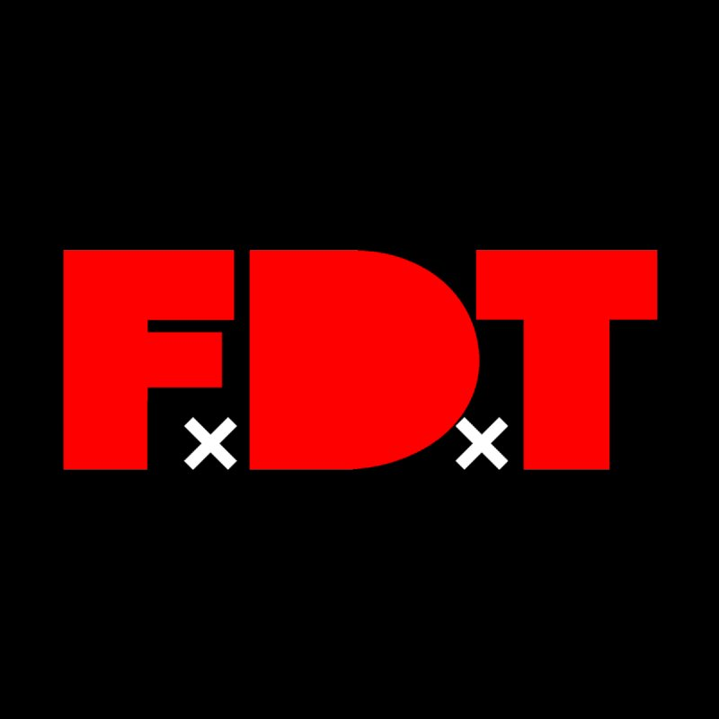 TDE x FDT Red (Men's & Women's) by NPHA.SHOP