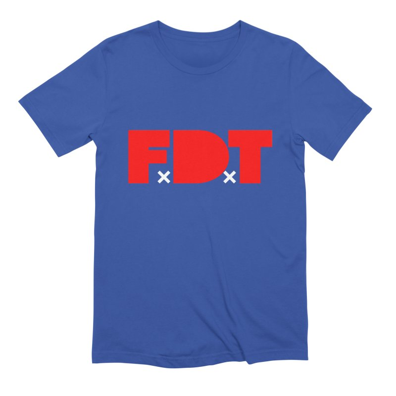 TDE x FDT Red (Men's & Women's) Men's Extra Soft T-Shirt by NPHA.SHOP