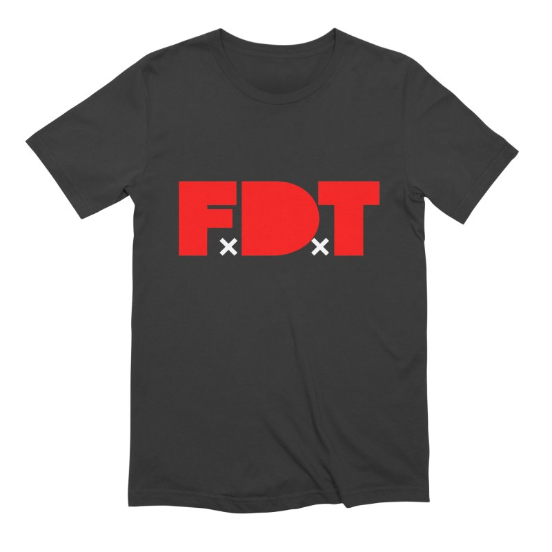 TDE x FDT Red (Men's & Women's) Men's Extra Soft T-Shirt by NPHA.SHOP