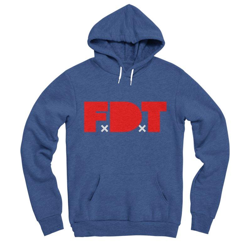TDE x FDT Red (Men's & Women's) Women's Sponge Fleece Pullover Hoody by NPHA.SHOP